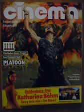CINEMA 5- 1987 Heft 108 Platoon Katharina Böhm Over the Top Madonna & Sean Penn