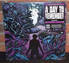 * A DAY TO REMEMBER - Homesick, Limited PURPLE COLORED Vinyl + Download NEW