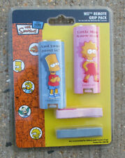 2 X NINTENDO WII REMOTE GRIP COVER PACK SIMPSONS BART LISA NEW & SEALED