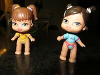 Bratz itsy Bitsy Bobblehead Doll Lot of 2 ~ Dana & Meygan