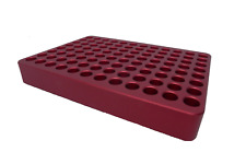 Aluminum cold block (chill plate) for 96 well plates and PCR tubes