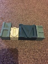 Small Home sign/ blocks. Used.