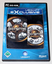 Rise of Nations-Gold edition incl Thrones & Patriots-DVD BOX