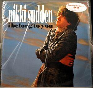 """Nikki SUDDEN I Belong To You +2 Trks R.E.M. Orig 1991 12"""" UK VINYL Record NEW"""