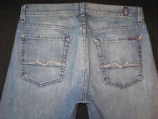 7 For all Mankind Mens Standard Jeans Sz 32 X 26 w Stretch Straight Leg