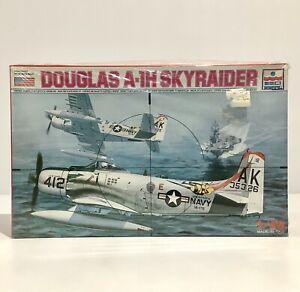 ESCI ERTL Model Kit Douglas A-1H Skyraider 1/48 - New - Tears To Plastic Wrap