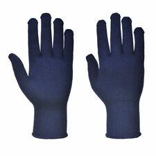 2 Pares Portwest A115 Thermolite Aislamiento Térmico Caliente Guante - Azul XL