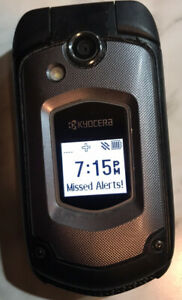 Kyocera DuraXTP E4281 Sprint Rugged Waterproof Flip Phone Tested Working