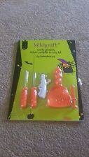 BRAND NEW - PUMPKIN CARVING KIT INCLUDING TEMPLATES - box 6