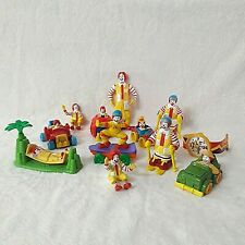 12 Pcs. Vintage Original Ronald McDonald's Happy Meal Toys Lot  A.D.1989 - 1999