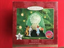 HALLMARK 2007 THE WIZARD OF OZ KING OF THE FOREST MUSICAL ORNAMENT
