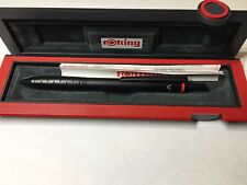 Rotring Quattro Data 4-in-1 Pen, Black