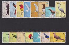 B.I.O.T. - 1975 BIRDS SET TO 10R MNH SG.62-76  (REF.D141)