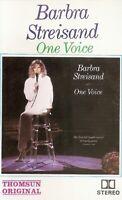 Barbra Streisand...One Voice.  Import Cassette Tape