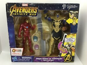 Marvel Avengers: Infinity War Iron Man vs. Thanos Battle Set Hasbro