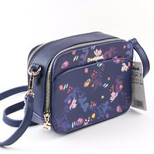14dcf325a Desigual Women Floral Navy Blue Cross Body Bag Nova Jasper