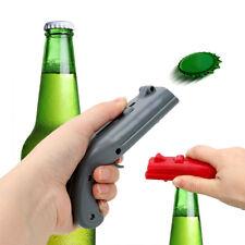 Cool Gun Launcher Shooter Bottle Opener Beer Openers Shoots Over 5 Meters