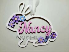 Personalised Easter Bunny Decoration/Gift