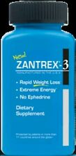 3x ZANTREX 3 RAPID WEIGHT LOSS EXTREME ENERGY FORMULA 24 CAPS EACH (72 TOTAL)
