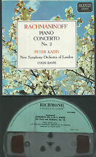 4 Spur Tonband Reel to Reel : Rachmaninoff - Piano concerto #2 (Peter Katin)