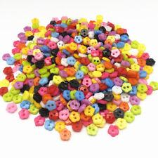 lot de 50 Bouton Crafts fleur  6mm 2 trous scrapbooking bricolage décoration