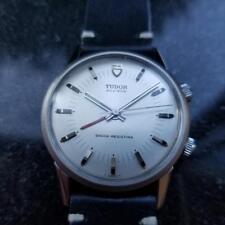 TUDOR Men's Advisor 10050 Hand-Wound Alarm Watch, c.1983 Vintage Swiss LV601