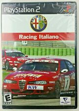 Alfa Romeo Racing Italiano New PS2 Game Sealed in Factory Shrink