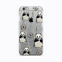 Cute Panda New iPhone XR XS Max Silicone Cover Animal iPhone 6s 7 8 Plus X Case