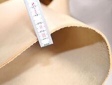Leder, Dickleder Lederzuschnitt DIN-A4, 2,3 - 2,7mm, punzieren, 2. Wahl Stücke