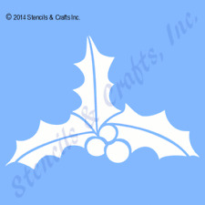 """5 1/2"""" HOLLY BERRY STENCIL BERRIES CHRISTMAS STENCILS TEMPLATE PAINT CRAFT NEW"""