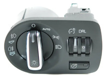 New Genuine AUDI TT Chrome Trimmed European Headlight Switch With Coming Home