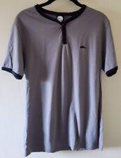 ATTICUS Brand Gray Henley / Ringer T Shirt Size M Blink-182 Delonge Hoppus Punk