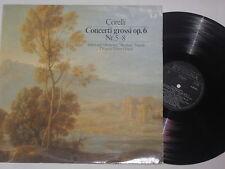 Corelli-Scarlatti Napoli-concerti grossi raccogli 6 n. 5-8 - LP eterna BLACK