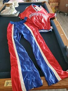 Vintage Houston Cougar Basketball, warm up jacket and pants