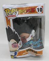 FUNKO POP! Dragon Ball Z Vegeta #10 Signed Chris Sabat Vinyl Figure Collectable