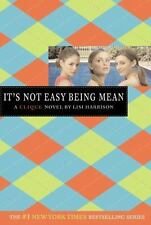 The Clique: It's Not Easy Being Mean No. 7 by Lisi Harrison (2007, Paperback, Re