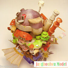 Miyazaki Hayao Anime Howl's Moving Castle 3D Puzzle Paper Model Kid Presents