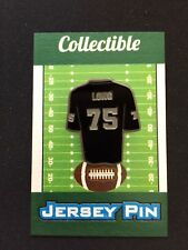 Oakland Raiders Howie Long  & more lapel pins-Lot (12)-Black Hole Collectables