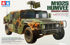 Tamiya 35263 1/35 Scale Military Vehicle Model Kit M1025 Humvee Armament Carrier