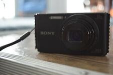 Sony Cyber-shot DSC-W830 20.1MP Digital Camera - Black