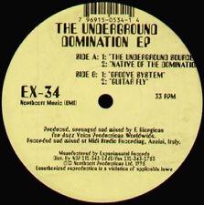 F. GIORGIONS - The Underground Domination EP - 1995 EXperimental Usa - EX-34