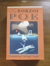 COMPLETE POEMS AND STORIES EDGAR ALLAN POE illustrated Kauffer Borzoi slipcase