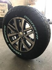 Toyota Hilux Genuine 18 Inch Wheels And 265/60/18 Monsta All Terrain Package