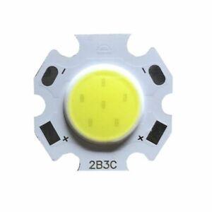 24pcs 3W 5W 7W 10W LED Source Chip High Power LED COB Side 11mm Light Bulb Lamp