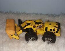 Stones Gravel Rockford, IL Bulldozer Antique Toy Metal Solid Yellow Construction