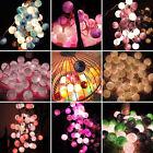 Fashion 3M 20LED Cotton Ball FAIRY String Lights Party Wedding Home Decor Lights