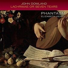 JOHN DOWLAND: LACHRIMAE OR SEVEN TEARS NEW CD