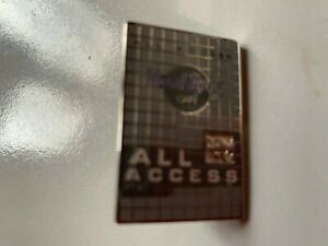 Hard Rock Cafe All Access pin