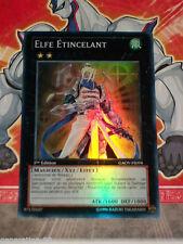 Carte YU GI OH ELFE ETINCELANT GAOV-FR098