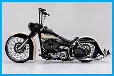 "Harley Davidson Softail Bolt On Neck Rake Kit 26"" 2007-Earlier"